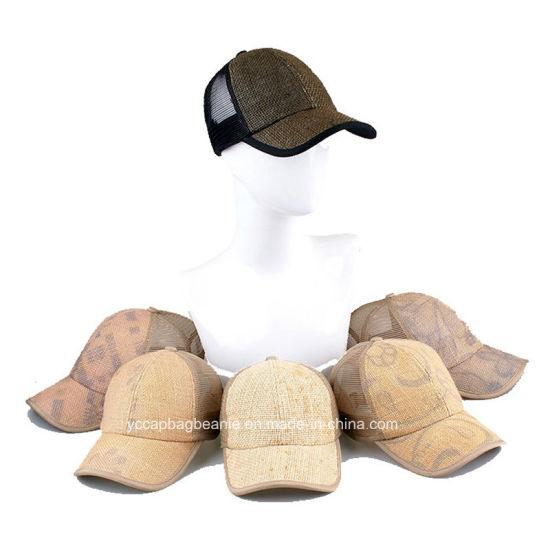 f5becac365b6c China New Design Breathable Hemp Straw Caps - China Wool Felt Hat ...