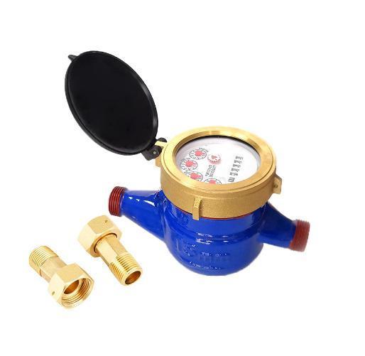 Portable Water Meter Cast Iron Body Cheap Price Lxsg-15e-50e