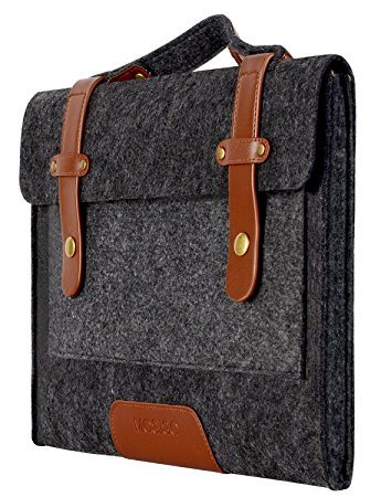 Mosiso Felt Laptop Shoulder Bag for 13-13.3 Inch MacBook PRO, MacBook Air, Notebook Computer, Black pictures & photos