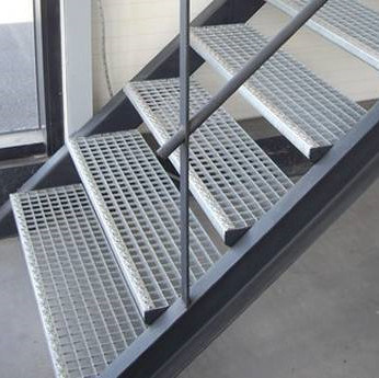 Bar Grating Structural Metal Steel Stair pictures & photos