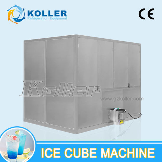 3 Tons/Day Low -Power Consumption Cube Ice Machine (CV3000) pictures & photos