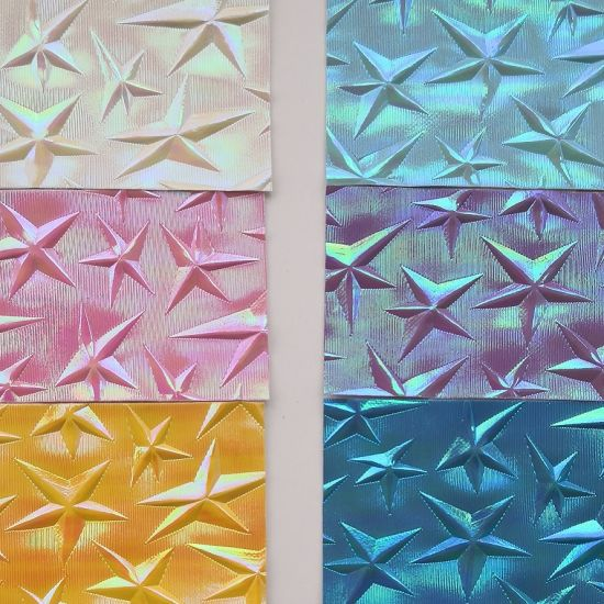 Starry PVC Artificial Leather for Bags, Handbags. pictures & photos