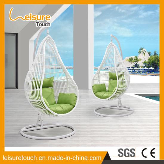China Outdoor Hotel Rattan Hammock Swing Chair Garden Home Hanging