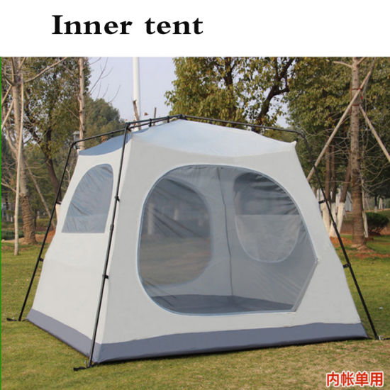 Outdoor C&ing 5-8 Person 1 Room Waterproof Family Large Tunnel Tent & China Outdoor Camping 5-8 Person 1 Room Waterproof Family Large ...