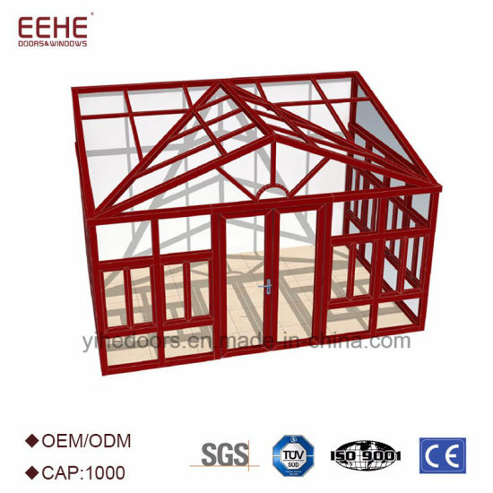 Customized Aluminium Frame Sunroom Patio Enclosure Designs For Garden
