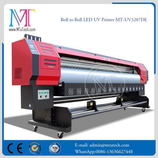 Bottom Price LED UV Inkjet Printer with Epson Dx7 3.2 Width Format with 1440*1440dpi Resolution