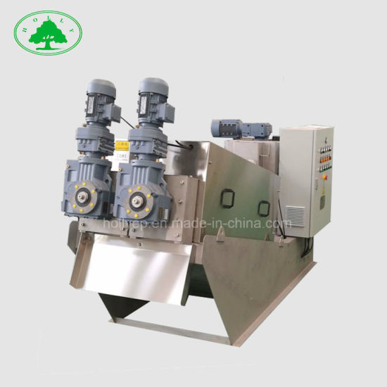 Stainless Steel Belt Filter Press in Palm Oil Plant Sewage Treatment