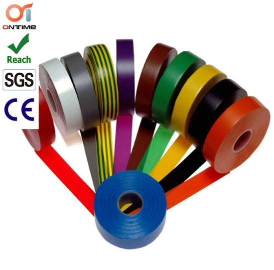 China Colour PVC Electrical Insulation Tape for Wraping of Wires ...
