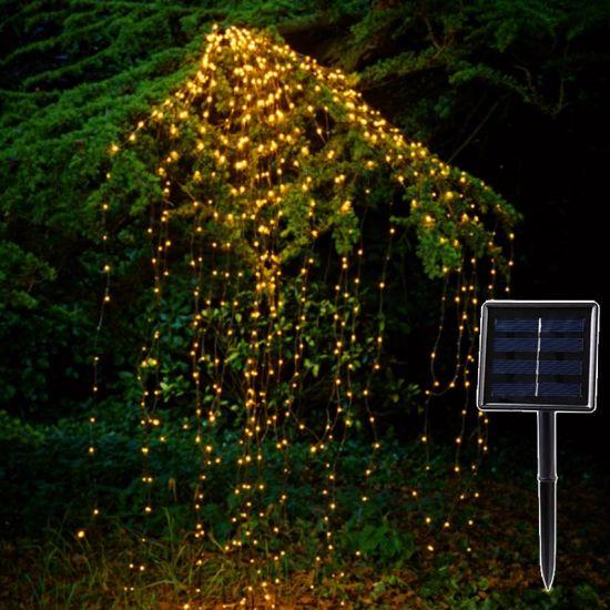 Christmas Tree Vine Light 2m 200 Leds String Water Fall Fairy Waterproof Lamp