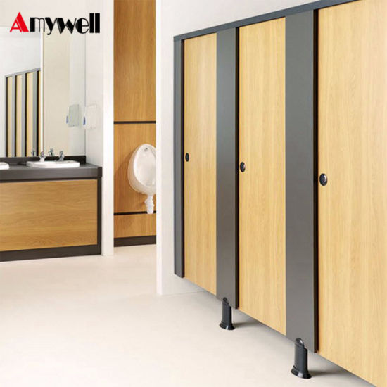 China Amywell Formica Solid Phenolic Used Bathroom Toilet Partitions - Phenolic bathroom partitions