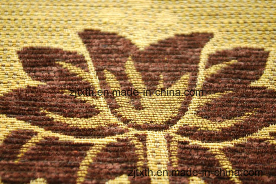 Jacquard Chenille Fabrics for Sofa Decoration pictures & photos
