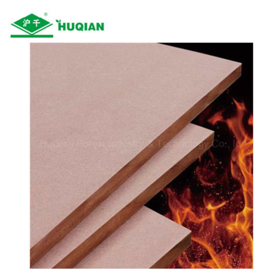 Fire Retardant MDF Boards 1220X3050X12mm With Grade E1 B1 C For Ceiling  Board