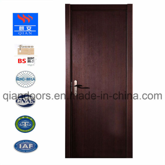 China Hot Exterior Fire Rated Wooden Door With Bs Certification