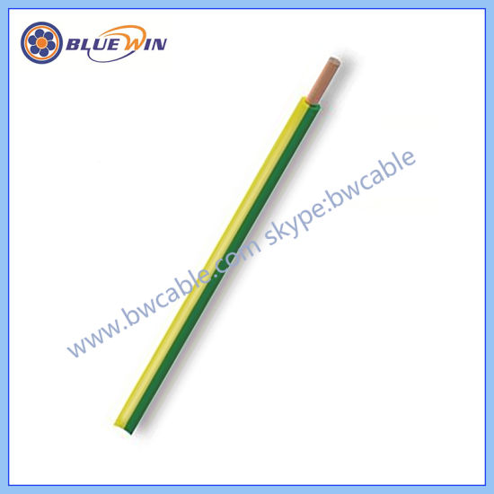 China Flexible Earth Cable Thin Electrical Wire H05V-K - China ...