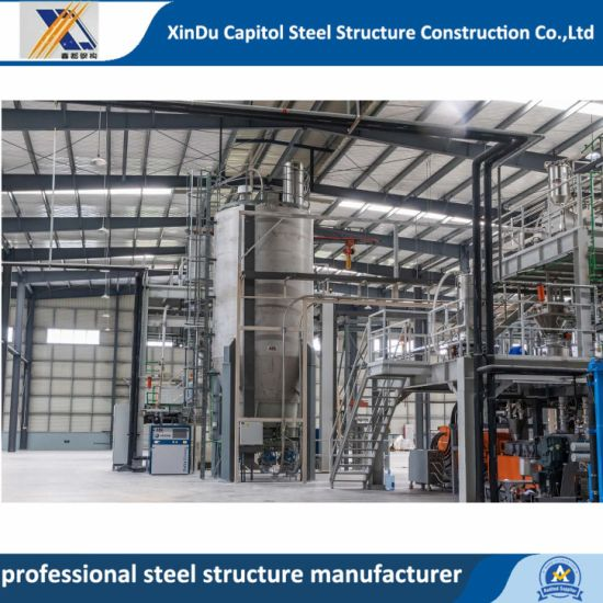 Prefab H-Section High Strength Steel Structure Metal Building/Warehouse/Workshop/Shed/Plant /Prefabricated House Building