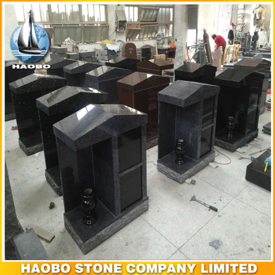 High Quality Black Granite Monument for Wholesale