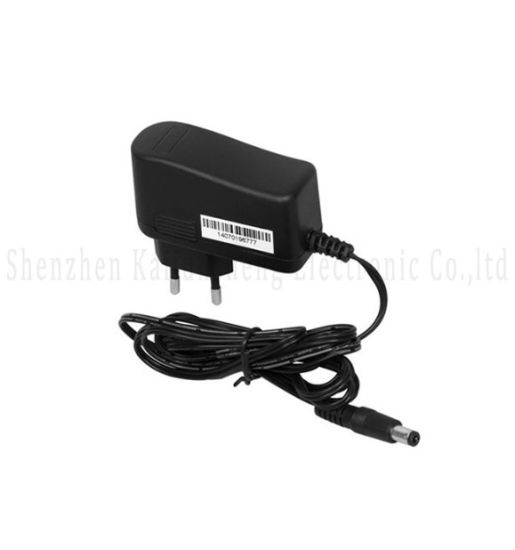 Black Color 12V 1A Switching Power Supply Adapter