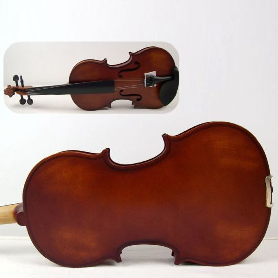 Musical Instrument Solid Student Violin Free Violin Case pictures & photos