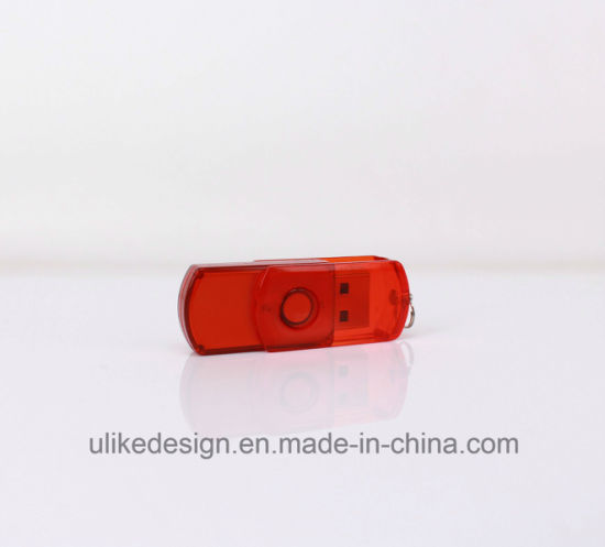 Red Swivel Promotion USB Flash Drive pictures & photos