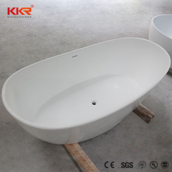 China Kohler Sanitary Ware Bathroom Bathtub Resin Stone Hot Tub ...