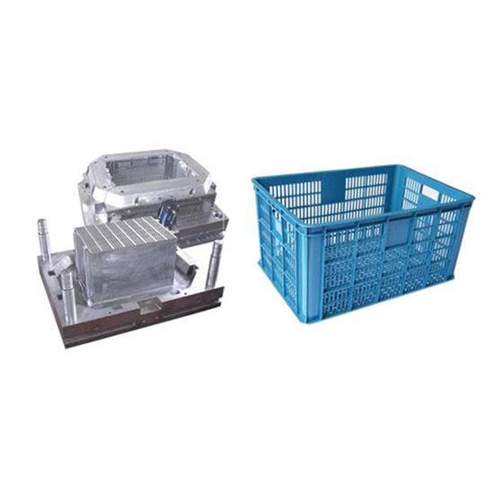 Fruit Basket Plastic Mould Design Manufacture Fruit Crate Injection Mold