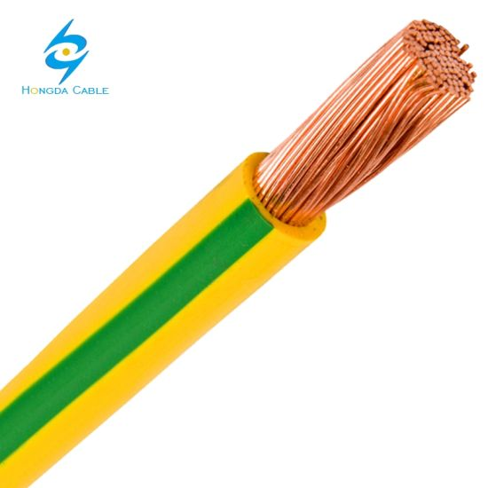 China 150mm Flexible Copper PVC Covered Earth Grounding Wire Cable ...