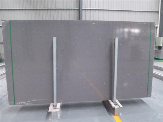 China Calacutta White Engineered Quartz Countertop Slab Manufacturer