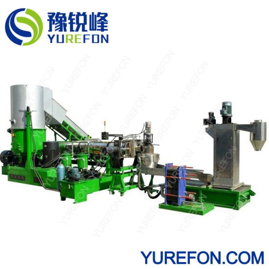 Plastic PP/PE/LDPE/HDPE Film Woven Bags Pelletizing Extrusion Machine pictures & photos