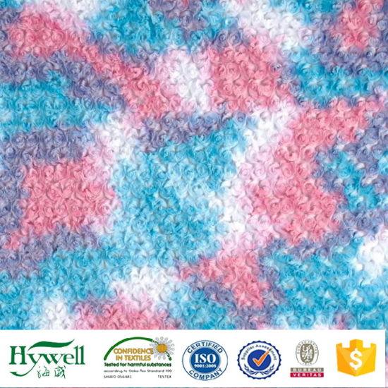 Rose PV Plush Fabric for Plush Toy