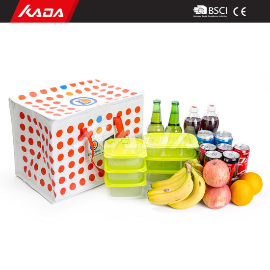 Wholesale Bulk Insulation Cooling Picnic Bag Lunch Bento Box Cake Wine Thermal Ice Bag Insulated Cooler Bags for Food
