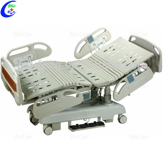 Ward Nursing Equipment High Quality ICU Electric Multi-Function Hospital Bed pictures & photos