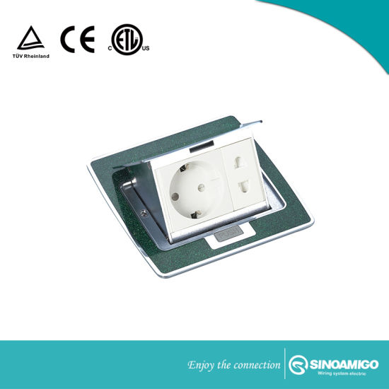 China Countertop Pop Up Socket For Kitchen Floor Desk Conference - Conference table electrical sockets
