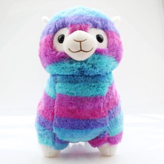 Plush Toy Alpaca Colorful