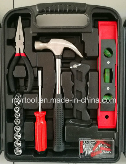 132 PCS Professional Best Selling Household Tool Set (FY131B) pictures & photos