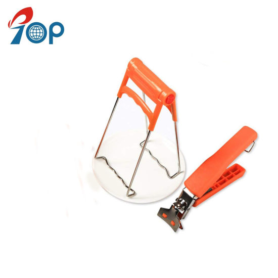 Stainless Steel Hot Dishes, Bowls Clip Folding Retriever Lifter Tongs pictures & photos