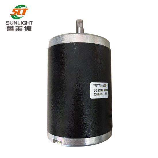 220V 77zyt Permanent Magnet 220V DC Brush Motor