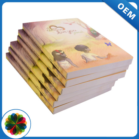 Softcover Full Color Perfect Binding China Novel Book Printing ...