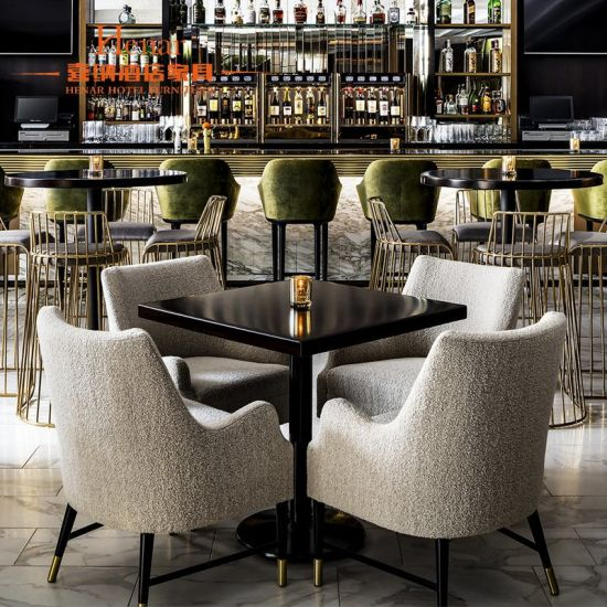 Commercial Restaurant Dining Furniture Set Customized