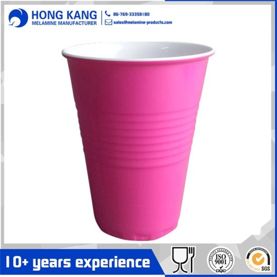 Food Grade Reusable Solo Melamine Cup for Home Party
