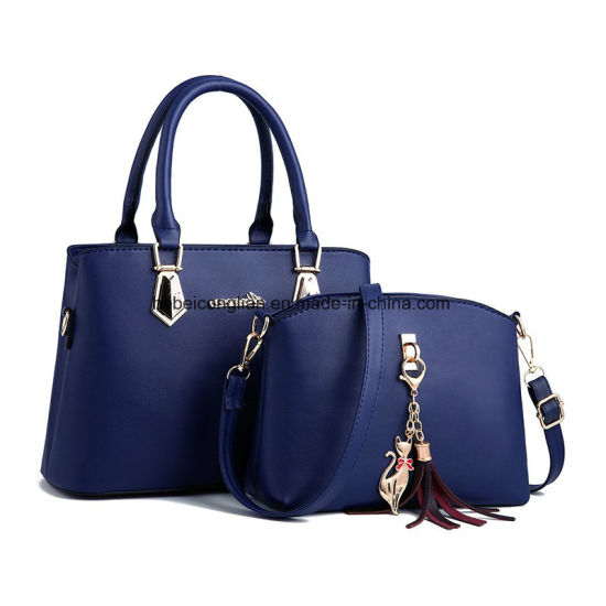 cb48790db477 China Wholesale Luxury Handbags Set Bags Ladies 2 Pieces Set Handbag ...