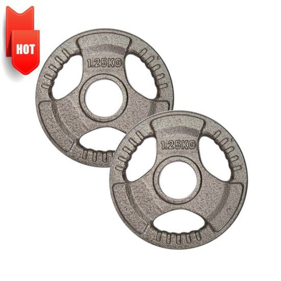 Macufacturer OEM Cast Iron Steel Dumbbell Sets Home Gym Fitness Weight Plate Dedicated Chrome Equipment Barbell Set Weight Plate