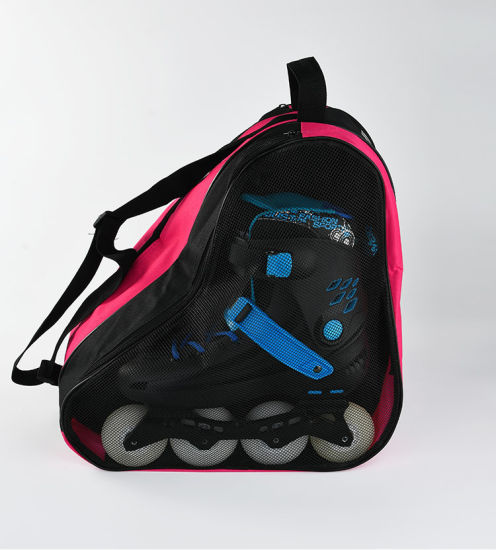 Ice Skating Rollerblade Ski Snowboard Boot Bag Sports Adults Men Women Kids Sports Equipment Premium Roller Skate Bag Pack
