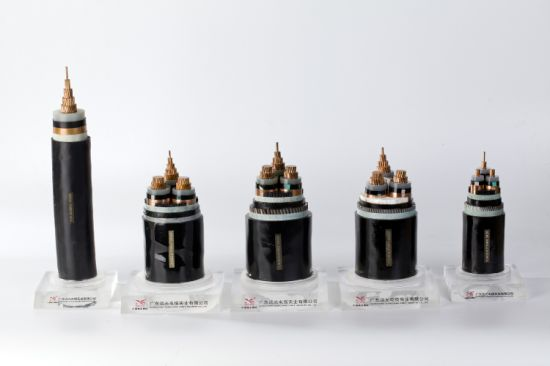 Low Voltage XLPE Cable / XLPE Insulated Steel Armoured Electric Power Cable