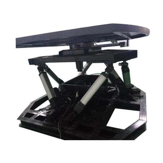 Popular 6 Dof Motion Platform for Car Simulator/AC Linear Actuator