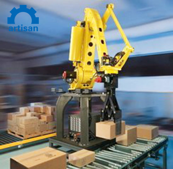 High Speed Cartons and Bags Robot Palletizer 50 Kg Sugar Bags Automatic Packing Machine pictures & photos