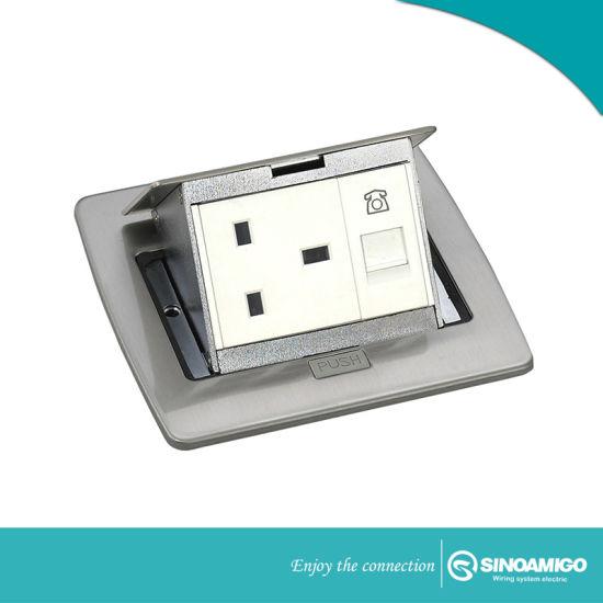 Protection Door Flexo Socket Outlet Floor Box
