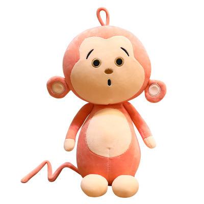28-50cm Soft Stuffed Plush Baby Toy Cartoon Cute Monkey