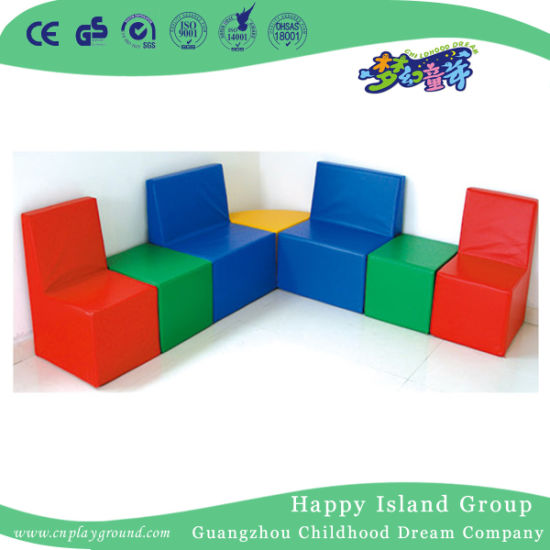 Factory Direct Price Colorful Sofa Combination (HJ-8701)