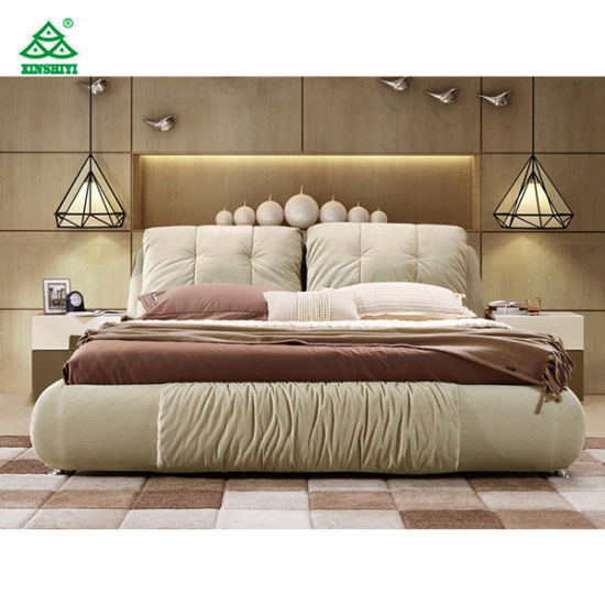China Pictures Of Wood Double Bed Latest Double Bed Designs With