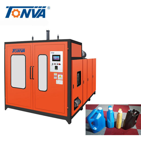 Plastic Motor Oil Bottle Making Machine Extrusion Blow Molding Machine